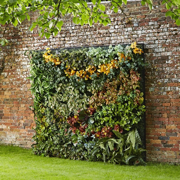 faux living wall for rent