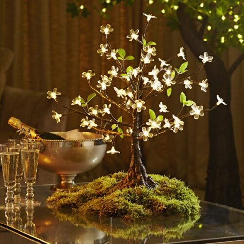 Mini LED Cherry Tree to buy or hire from Twilight Trees. You can also buy a selection of our LED Trees via Twilight Living where you can bring Twilight Tree magic home. Click to find out more.