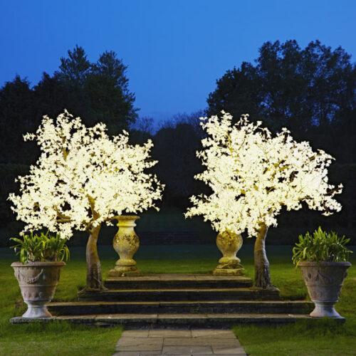 light up twig tree