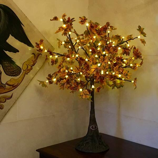 Mini LED maple tree with autumn leaves by Twilight Trees