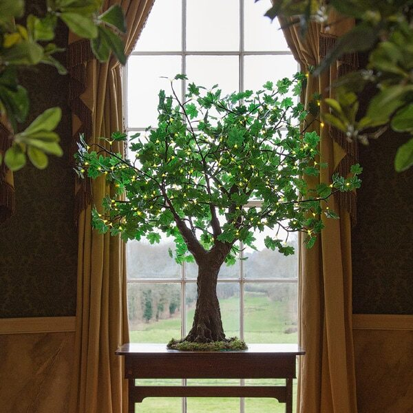 1.5m green LED maple tree to buy or to hire from Twilight Trees. You can also buy a selection of our LED Trees via Twilight Living where you can bring Twilight Tree magic home. Click to find out more.