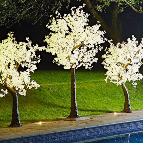 LED lollipop Cherry Trees by Twilight Trees