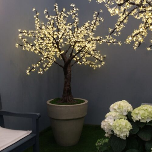 1.5m LED cherry tree to buy or hire from Twilight Trees. You can also buy a selection of our LED Trees via Twilight Living where you can bring Twilight Tree magic home. Click to find out more.