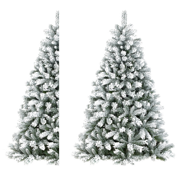 Half Christmas Tree by Twilight Trees