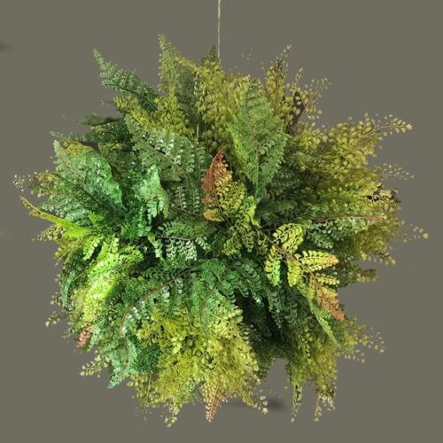 Large Faux Fern Sphere to buy or hire from Twilight Living where you can bring Twilight Tree magic home. From artificial trees to our amazing biophilia design products. Click to find out more.