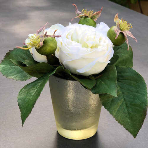 Faux roses flower arrangement to buy or hire from Twilight Living where you can bring Twilight Tree magic home. From artificial trees to our amazing biophilia design products. Click to find out more.
