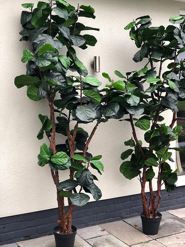 outdoor artificial trees