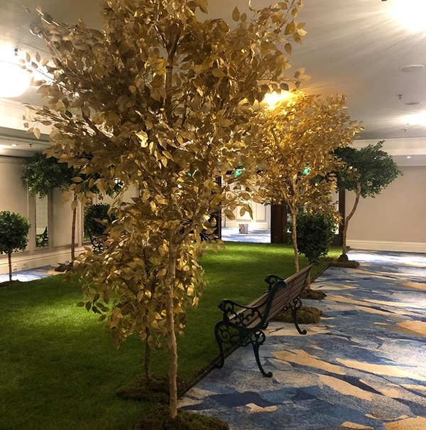 Hire Gold Forest Trees