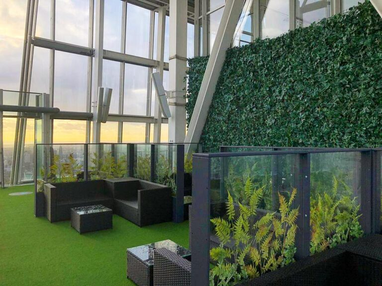 Twilight Trees' Living Spaces screens at The Shard