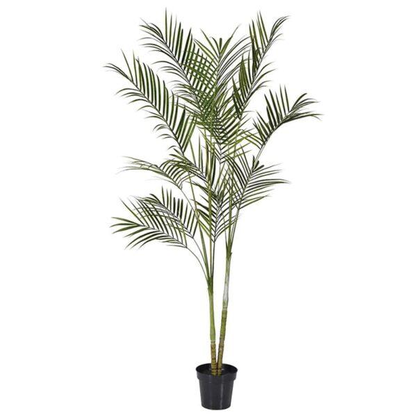 Faux arcea palm plant