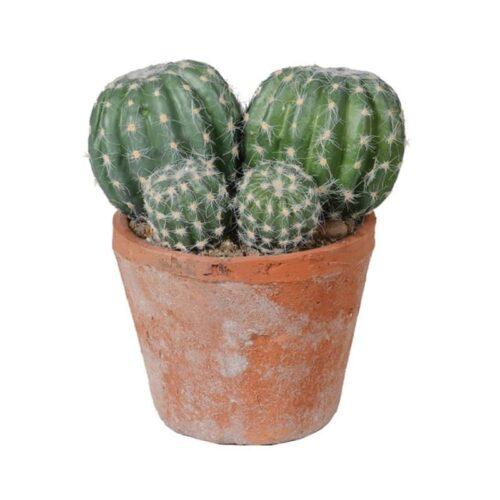 Faux barrel cactus