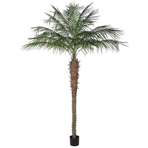 Faux coconut palms