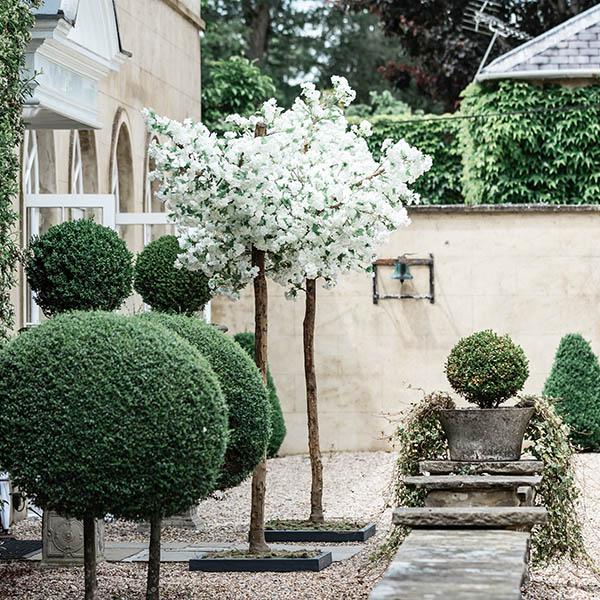 White Blossom Arch